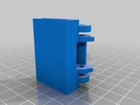 唱片机盖子 3D模型