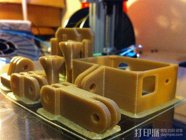 GoProHD适配器 3D模型  图1