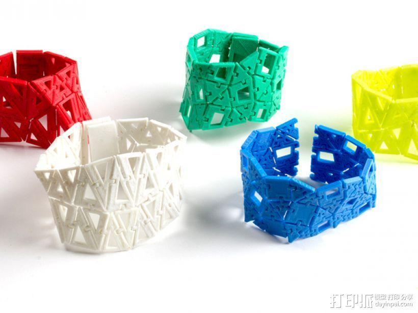 手镯 3D模型  图4