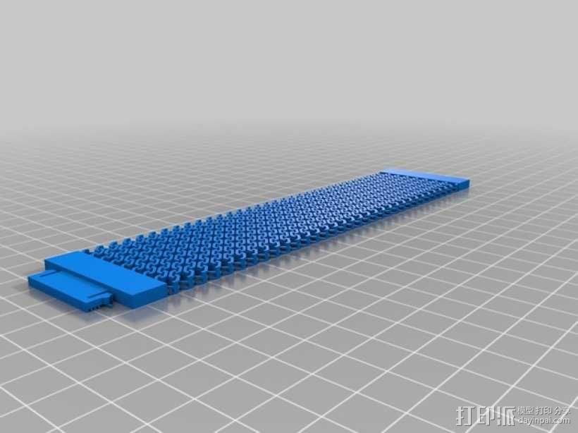 锁甲手镯 3D模型  图6
