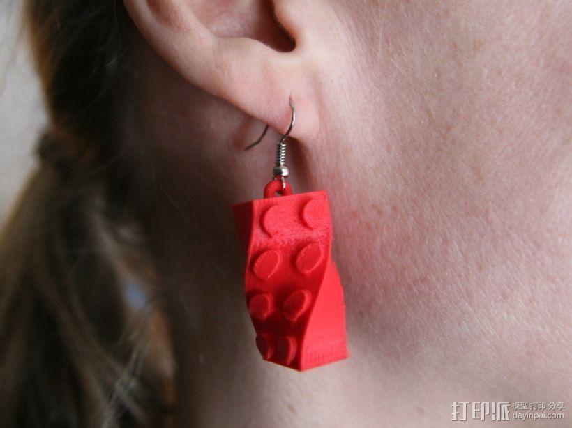 耳环 3D模型  图1
