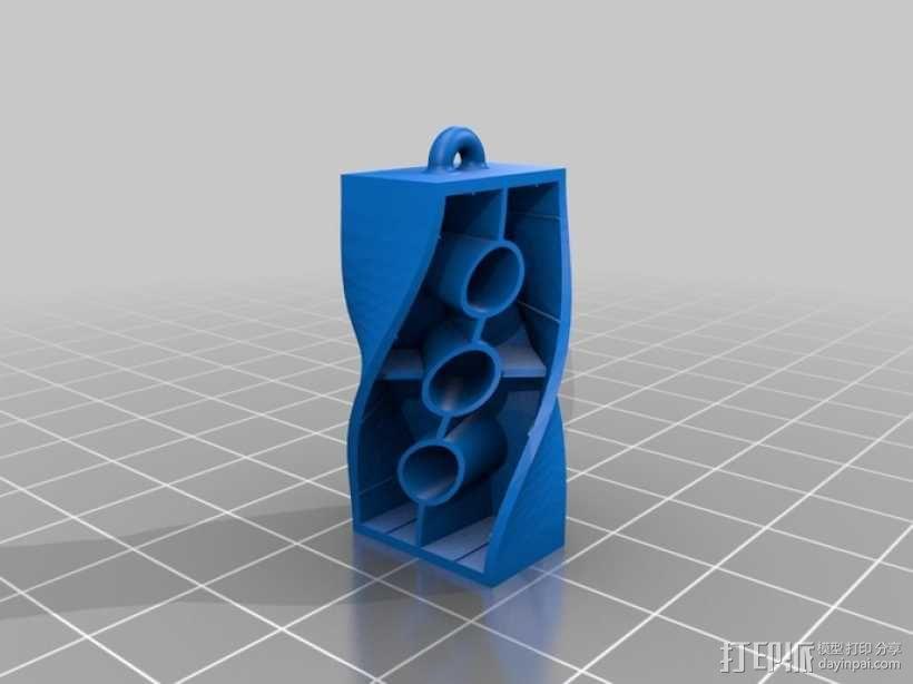 耳环 3D模型  图4