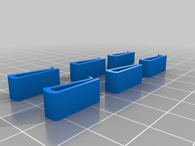 四叶草卡扣 3D模型  图3