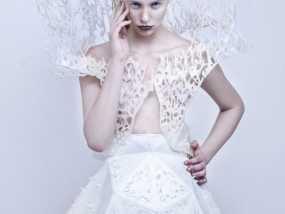 鬃丝连衣裙 3D模型