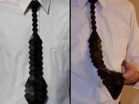 Hex领带 3D模型