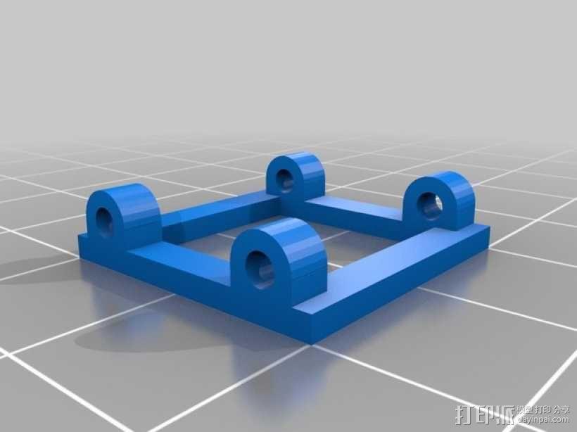 Hex领带 3D模型  图6