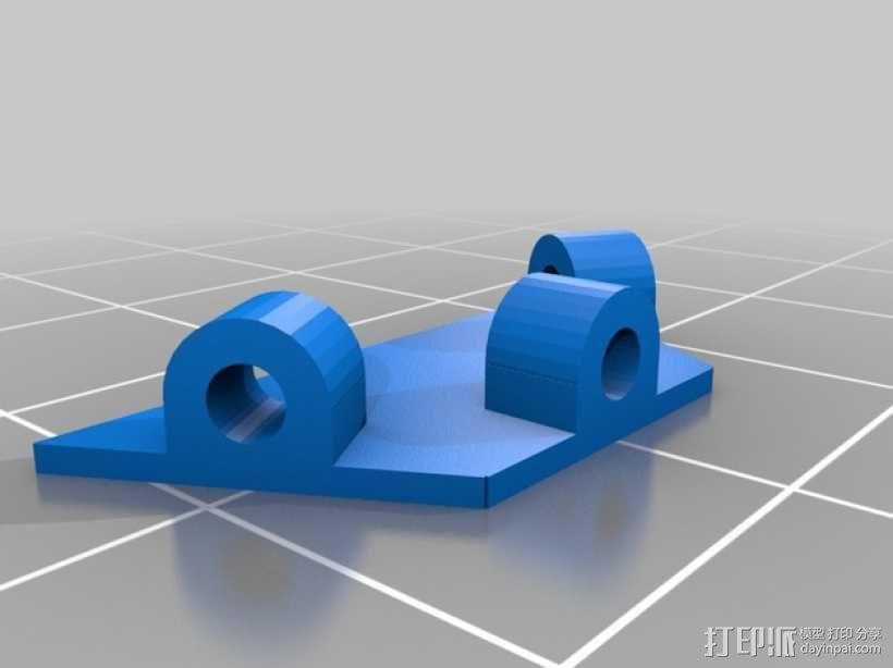 Hex领带 3D模型  图5