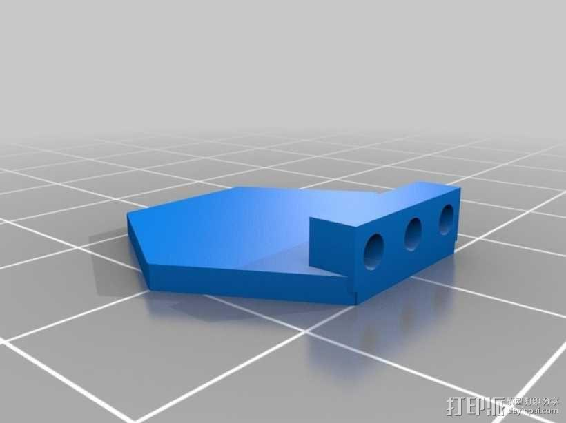 Hex领带 3D模型  图9