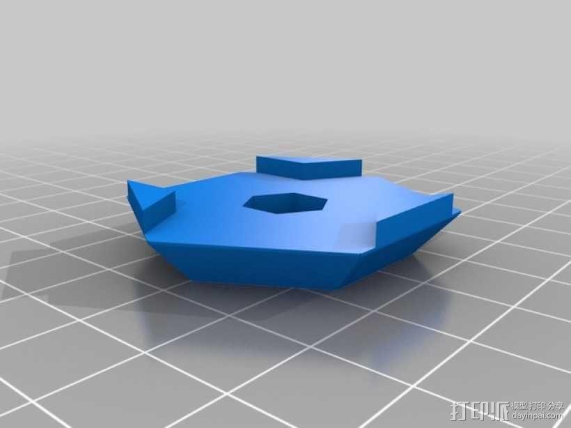 Hex领带 3D模型  图11