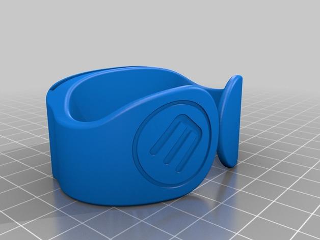 带夹层的手镯 3D模型  图2