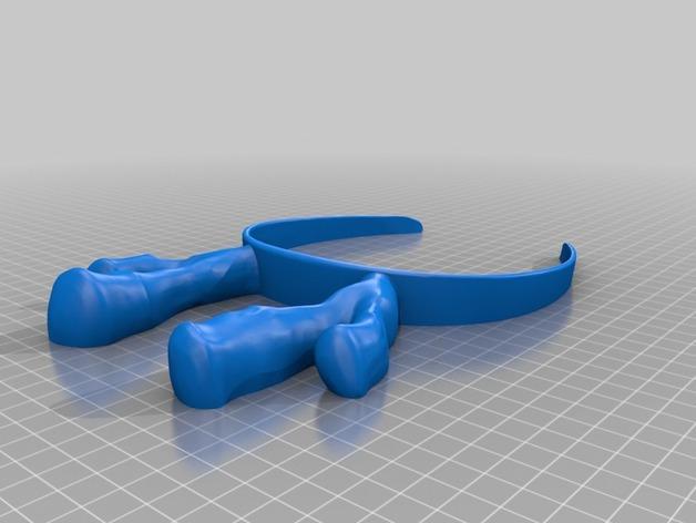 驯鹿帽子 3D模型  图2