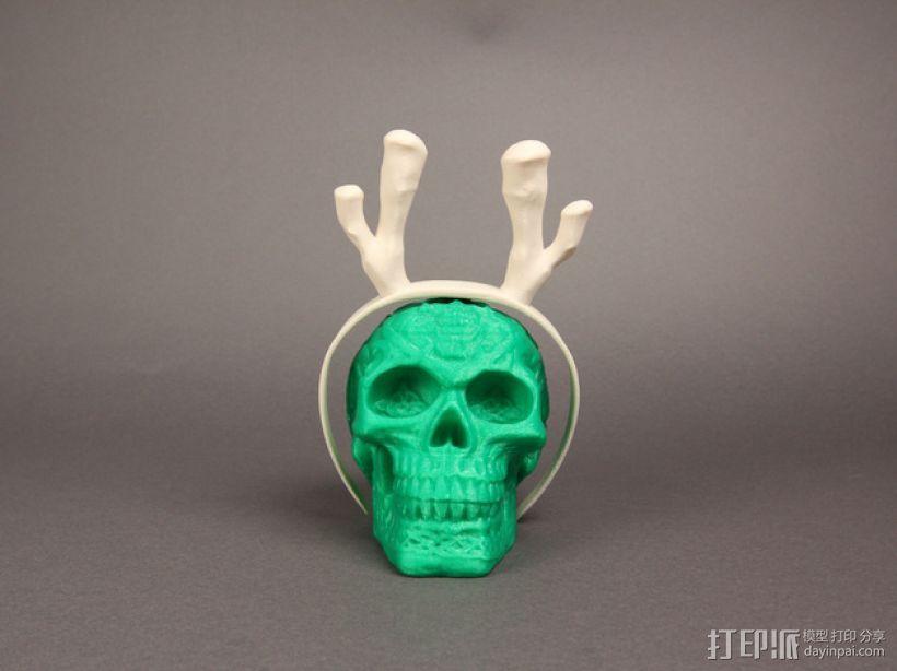 驯鹿帽子 3D模型  图5