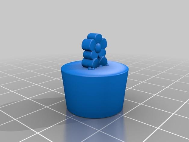 花盆吊坠 3D模型  图4