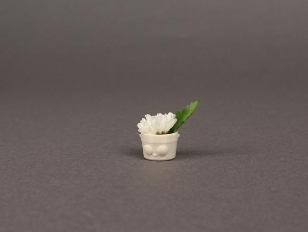 花盆吊坠 3D模型  图3