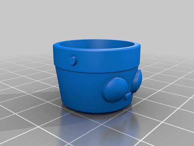 花盆吊坠 3D模型  图5