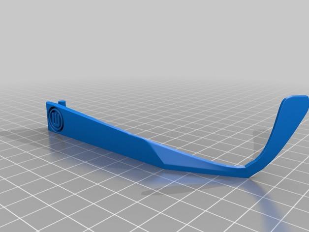 雪花墨镜 3D模型  图3