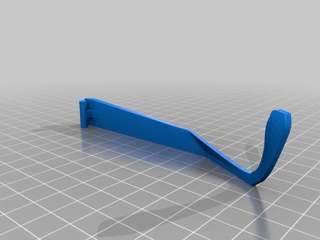 雪花墨镜 3D模型  图4