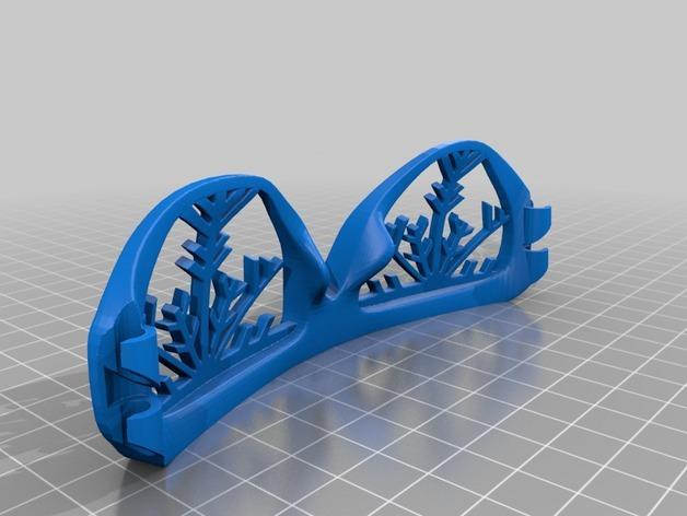 雪花墨镜 3D模型  图5