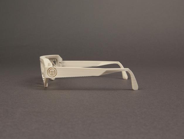 雪花墨镜 3D模型  图6