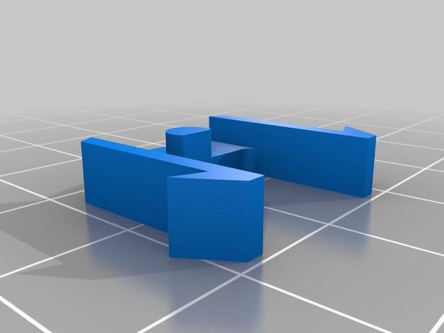 背包吊坠 3D模型  图2