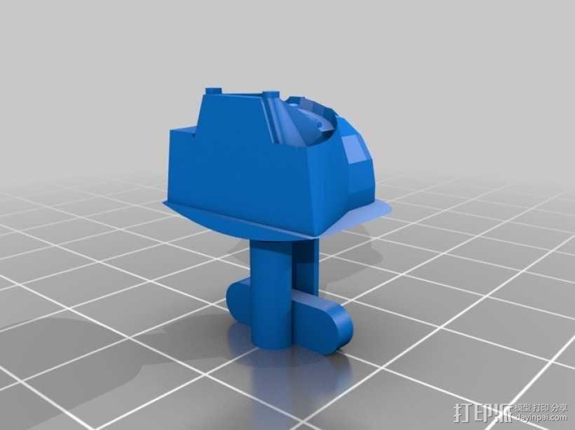 星球大战袖扣 3D模型  图2