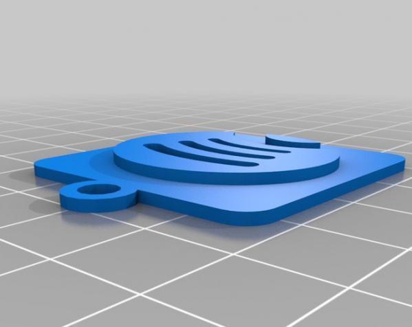 IOS钥匙坠 3D模型  图6