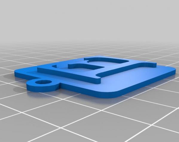 IOS钥匙坠 3D模型  图8