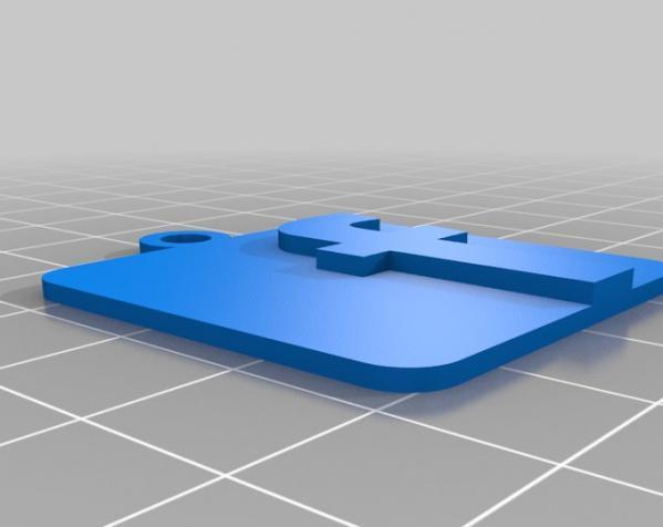 IOS钥匙坠 3D模型  图9