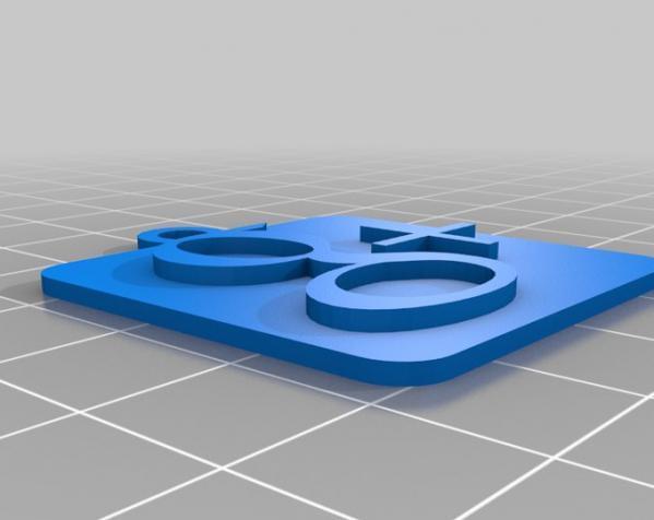 IOS钥匙坠 3D模型  图10