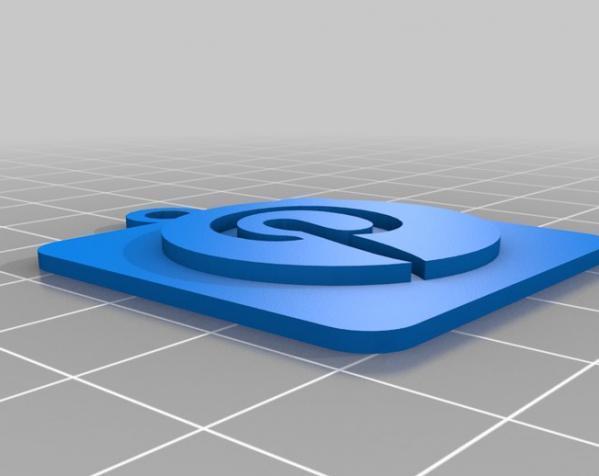 IOS钥匙坠 3D模型  图11
