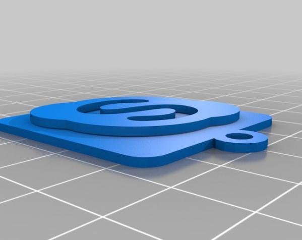 IOS钥匙坠 3D模型  图14