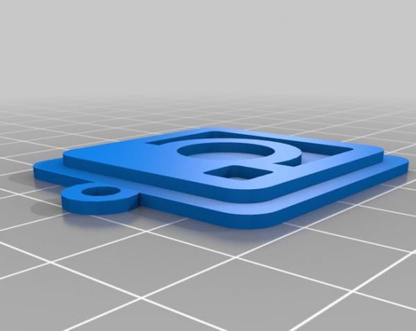 IOS钥匙坠 3D模型  图15