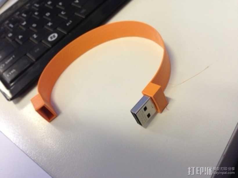 USB手环 3D模型  图5