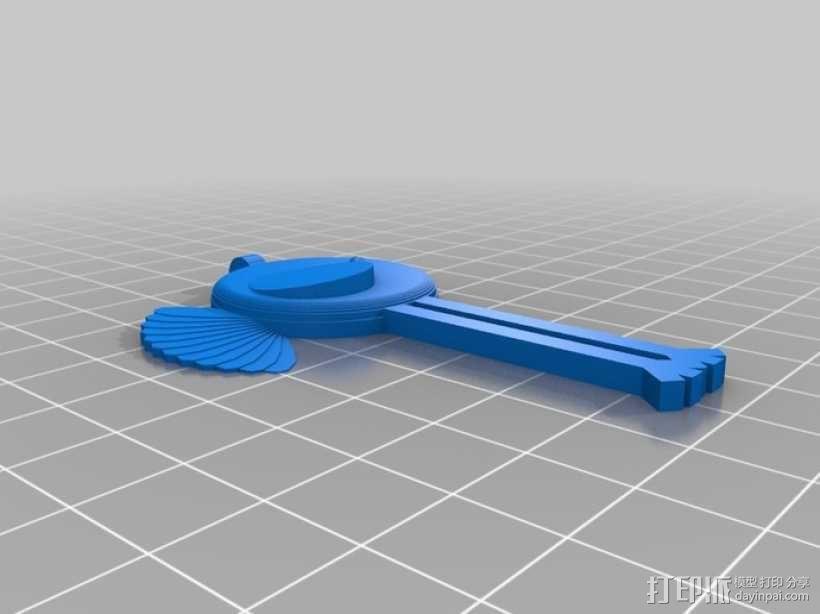 小鸟吊坠 3D模型  图9