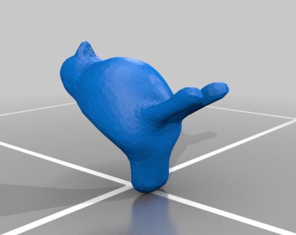 笼中鸟 吊坠 3D模型  图1