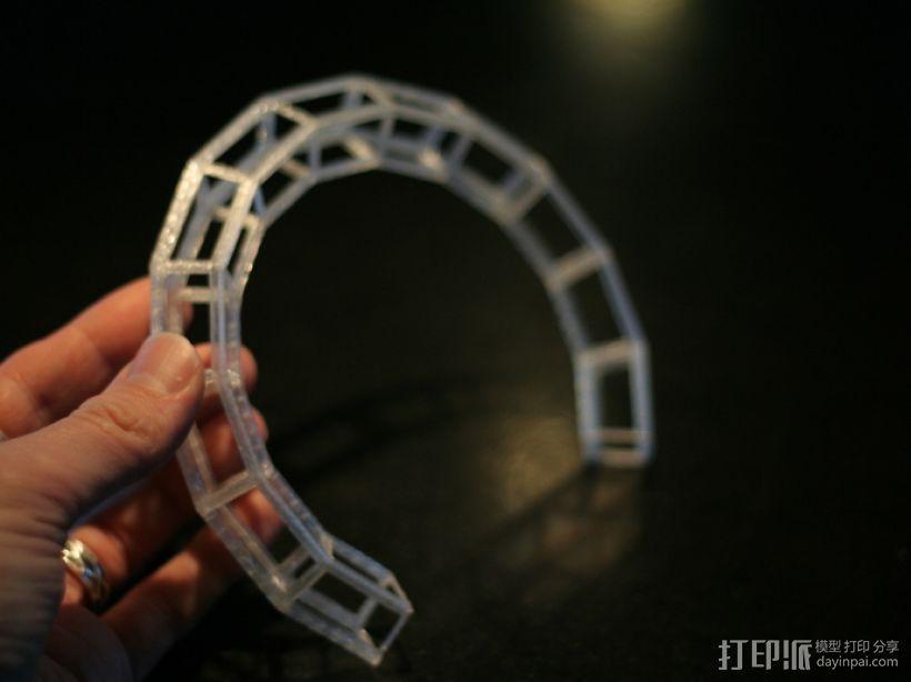 几何项链 3D模型  图3