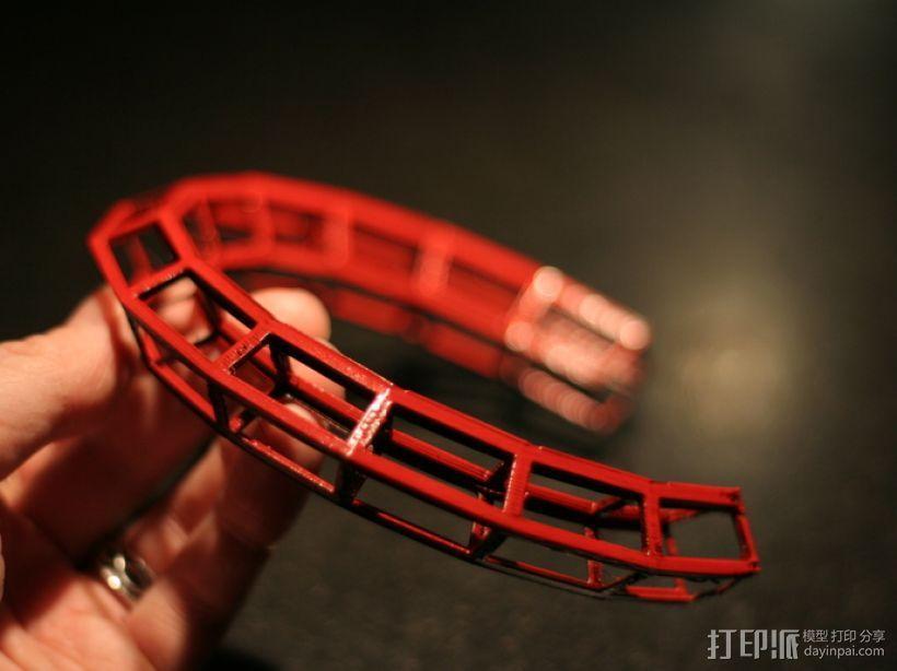 几何项链 3D模型  图6