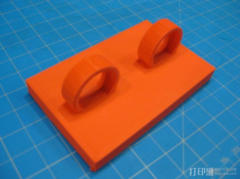 字环 3D模型  图3