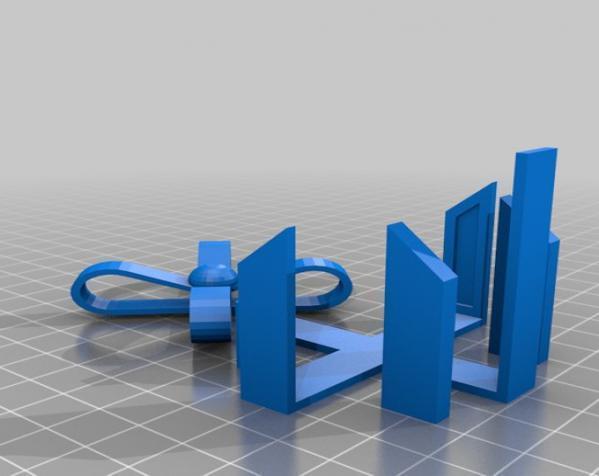 情人节礼品盒 3D模型  图5
