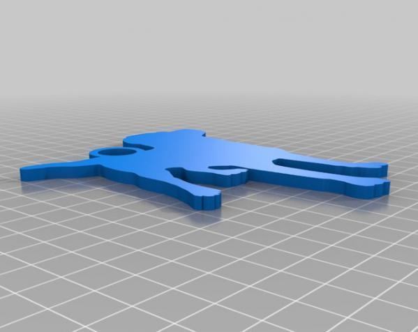 钥匙扣 3D模型  图8