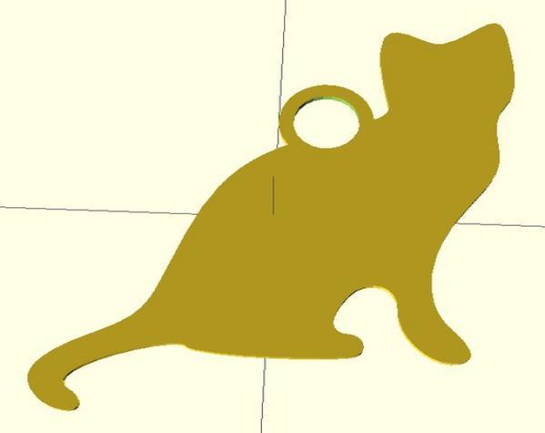 钥匙扣 3D模型  图6