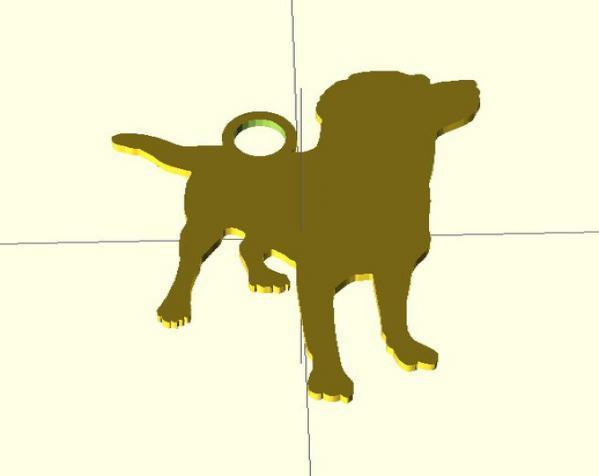 钥匙扣 3D模型  图4
