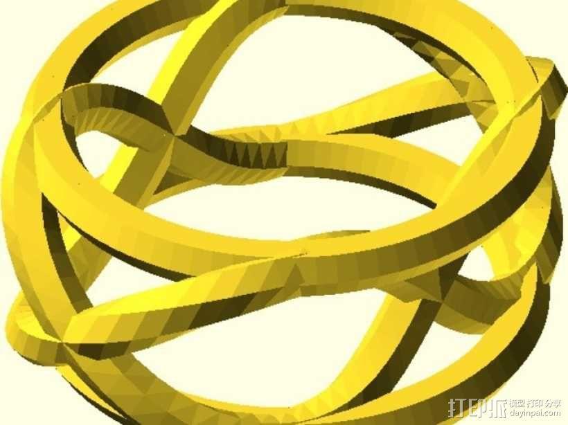 手镯 戒指 王冠  3D模型  图3