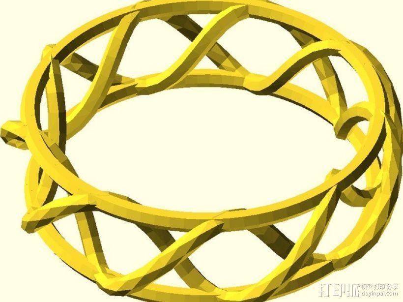手镯 戒指 王冠  3D模型  图2