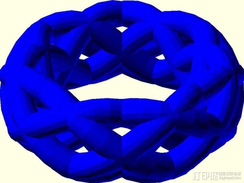 手镯 戒指 王冠  3D模型  图5