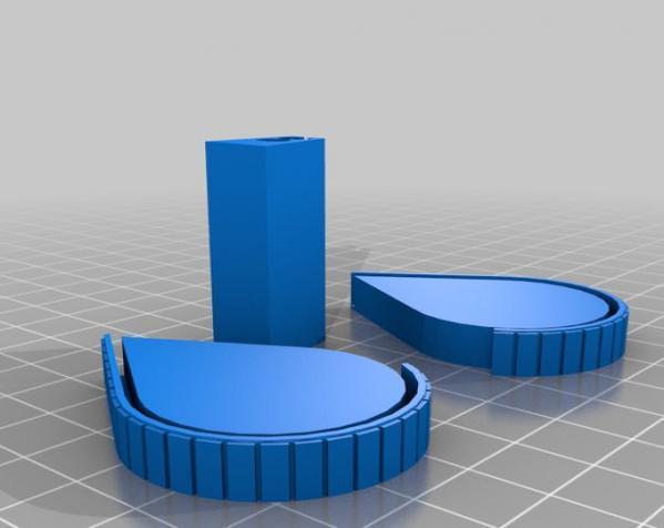 拉链包 3D模型  图4