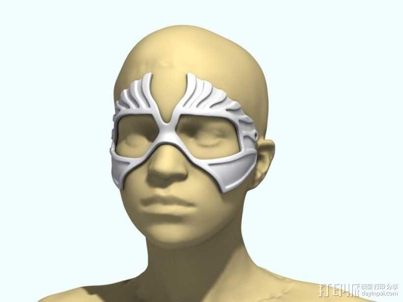 老鹰面具 3D模型  图4