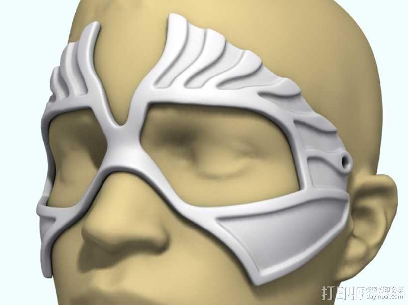 老鹰面具 3D模型  图5