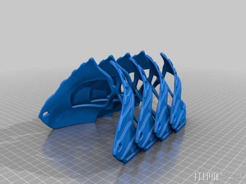 老鹰面具 3D模型  图8
