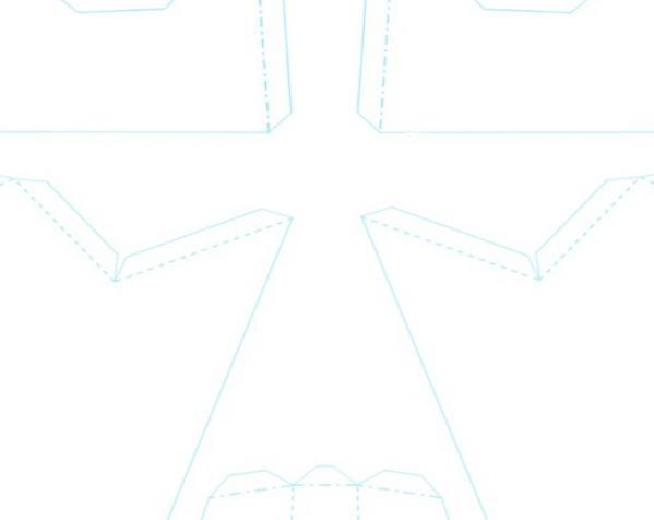 低多边形面具 3D模型  图1